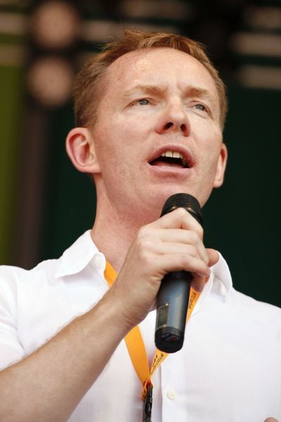 Foreign Office minister Chris Bryant at the London Pride Parade 2009